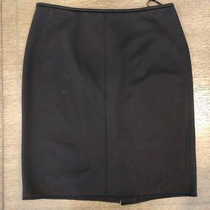 Calvin Klein Black Bubble Suit Skirt sz 12